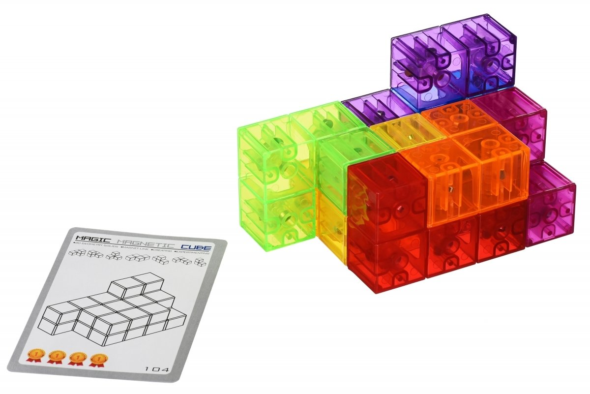 Головоломка Same Toy IQ Magnetic Click-Puzzle (730AUT) фото 5