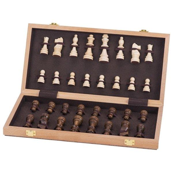 Настольная игра goki Шахматы в деревянном футляре (56922G) фото 2