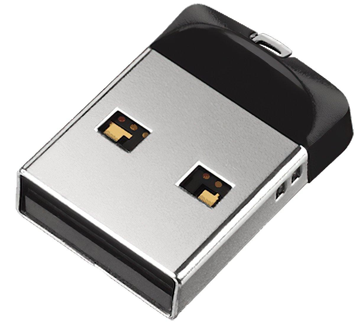 Накопичувач USB 2.0 SANDISK Cruzer Fit 32GB (SDCZ33-032G-G35) фото3