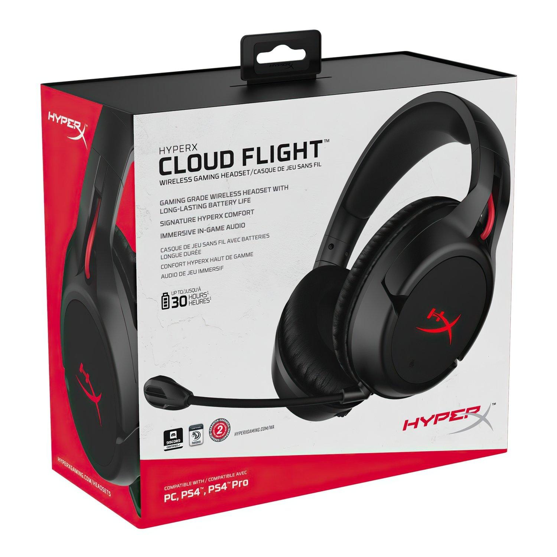 Игровая гарнитура HyperX Cloud Flight for PC/PS4 Black (HX-HSCF-BK/EM) фото