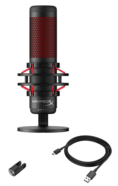 Микрофон HyperX QuadCast Mic (HX-MICQC-BK) фото 2