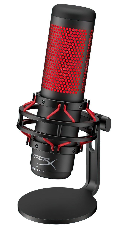 Микрофон HyperX QuadCast Mic (HX-MICQC-BK) фото 3