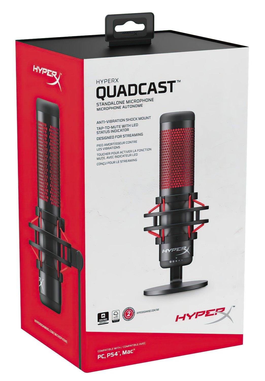 Микрофон HyperX QuadCast Mic (HX-MICQC-BK) фото 9