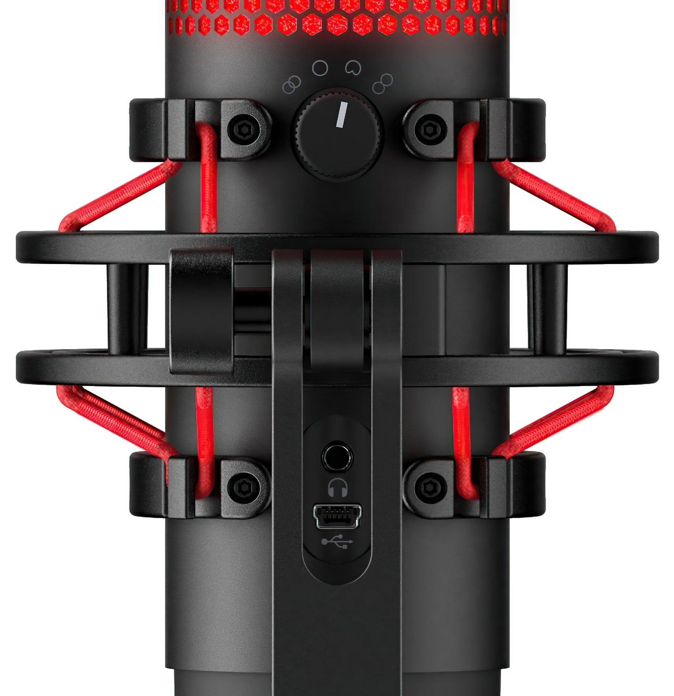 Микрофон HyperX QuadCast Mic (HX-MICQC-BK) фото 6