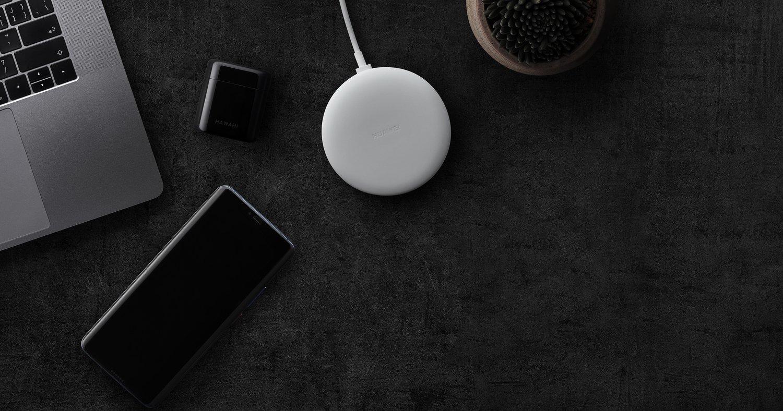Беспроводное зарядное устройство Huawei Wireless Charger Type-C White фото 8