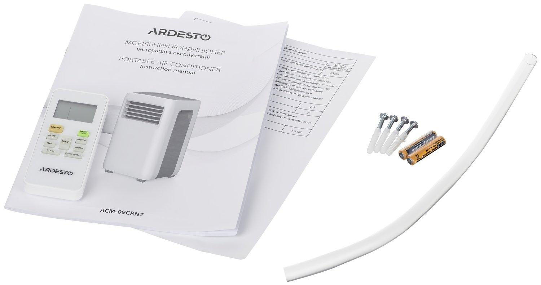 Мобильный кондиционер Ardesto ACM-09CRN7 фото 11