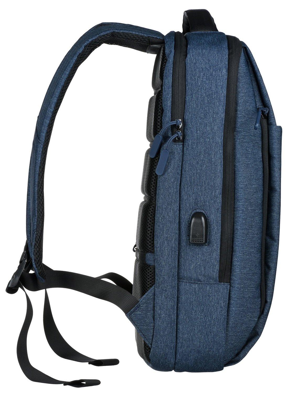 "<p>Рюкзак 2E Melange 16"" Blue</p>фото4"
