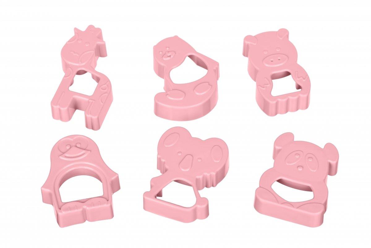 Набор форм для печенья Ardesto Tasty baking розовый 6 шт (AR2309PP) фото 2