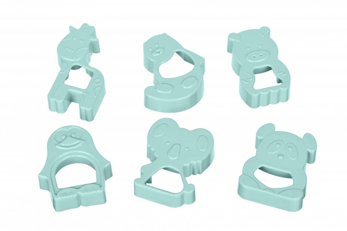 Набір форм для печива Ardesto Tasty baking блакитний 6 шт (AR2309TP) фото