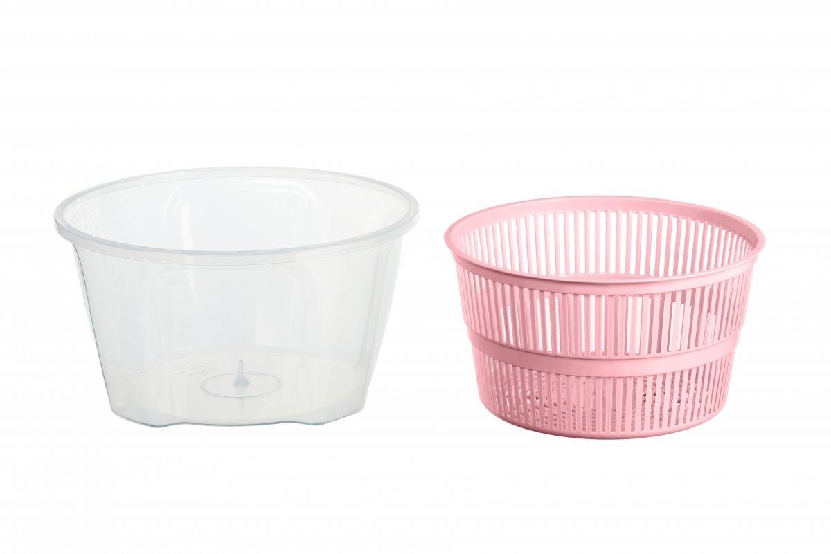 Сушка для салата Ardesto Fresh розовая 4,4 л (AR1603PP) фото 2