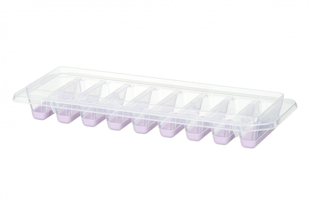 Форма для льда Ardesto Fresh Stick лиловая с крышкой (AR1102LP) фото 3