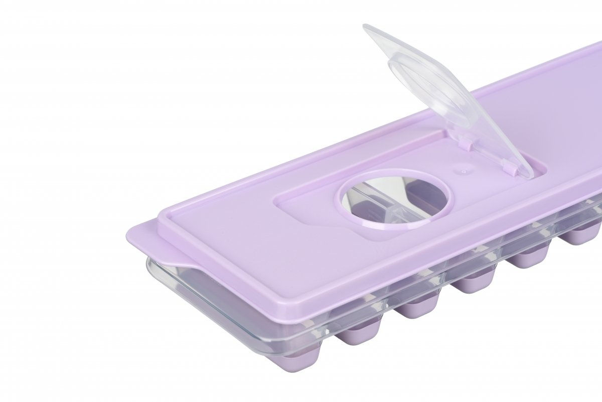 Форма для льда Ardesto Fresh Stick лиловая с крышкой (AR1102LP) фото 4