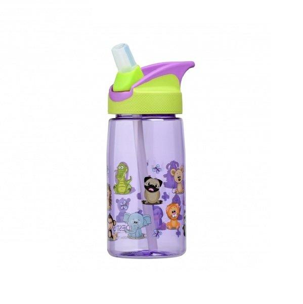 Бутылка для воды детская Ardesto Funny animals зеленая 500 мл (AR2201TA) фото 2