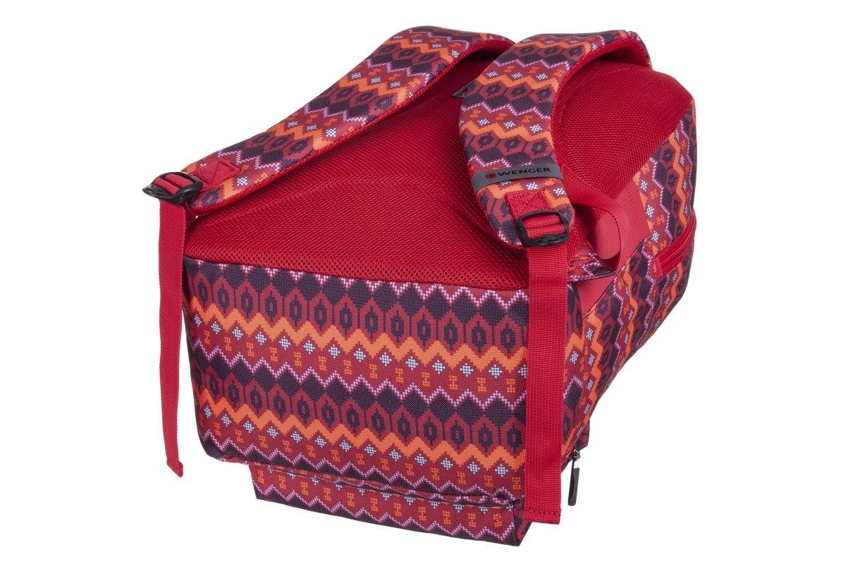 "<p>Рюкзак для ноутбука Wenger Colleague 16"" (Red Native Print)</p>фото4"