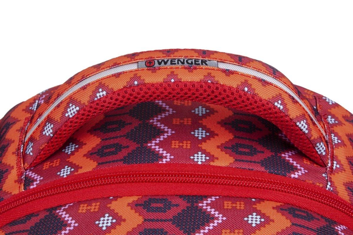 "<p>Рюкзак для ноутбука Wenger Colleague 16"" (Red Native Print)</p>фото5"