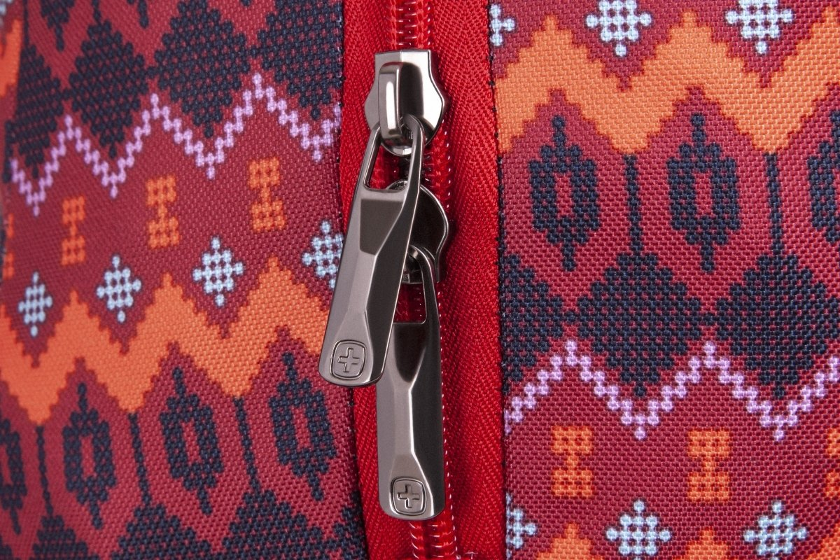 "<p>Рюкзак для ноутбука Wenger Colleague 16"" (Red Native Print)</p>фото9"