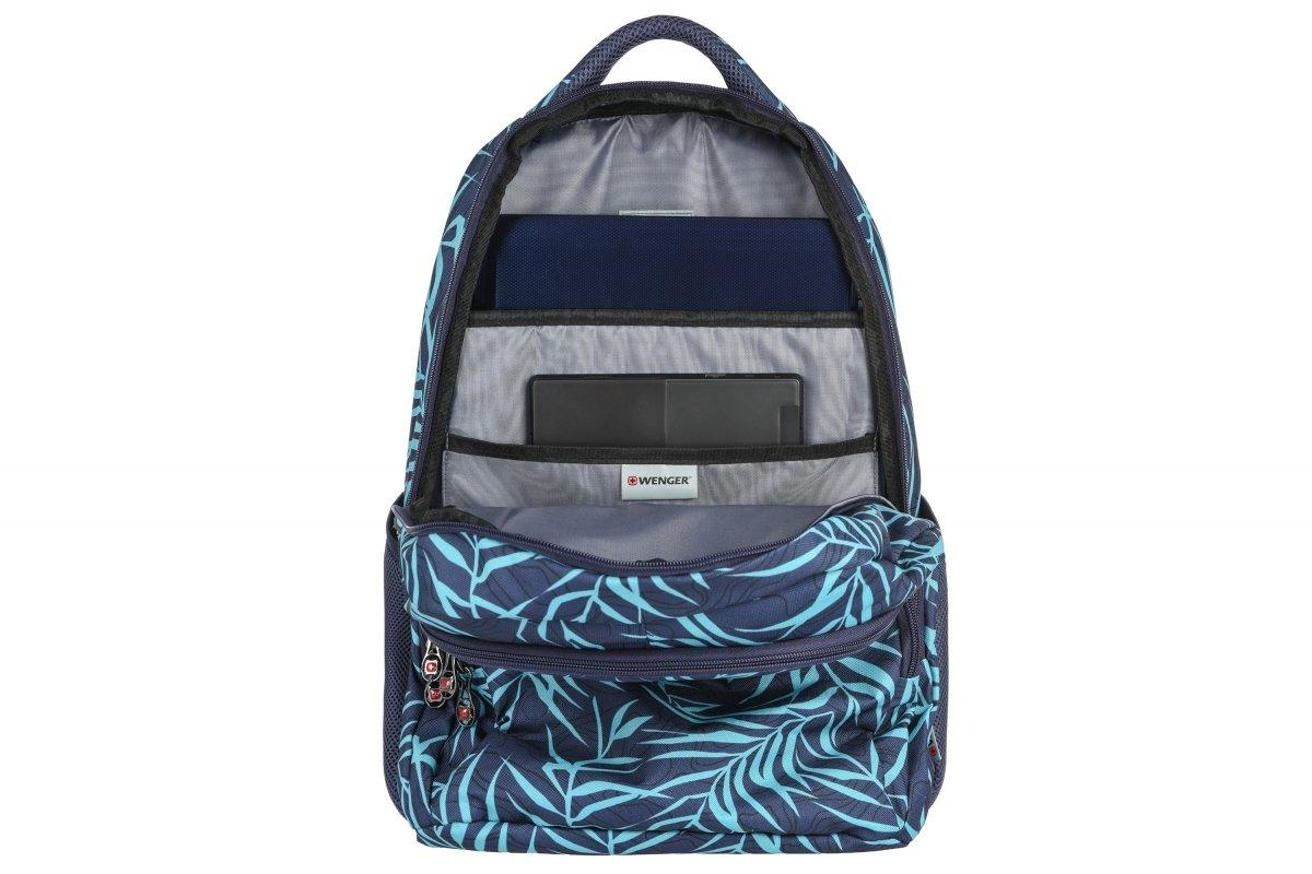 """Рюкзак для ноутбука Wenger Upload 16"""" (Blue Fern Print) фото"""