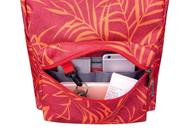 "<p>Рюкзак для ноутбука Wenger Colleague 16"" (Red Fern Print)</p>фото8"