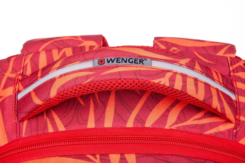 "<p>Рюкзак для ноутбука Wenger Colleague 16"" (Red Fern Print)</p>фото9"