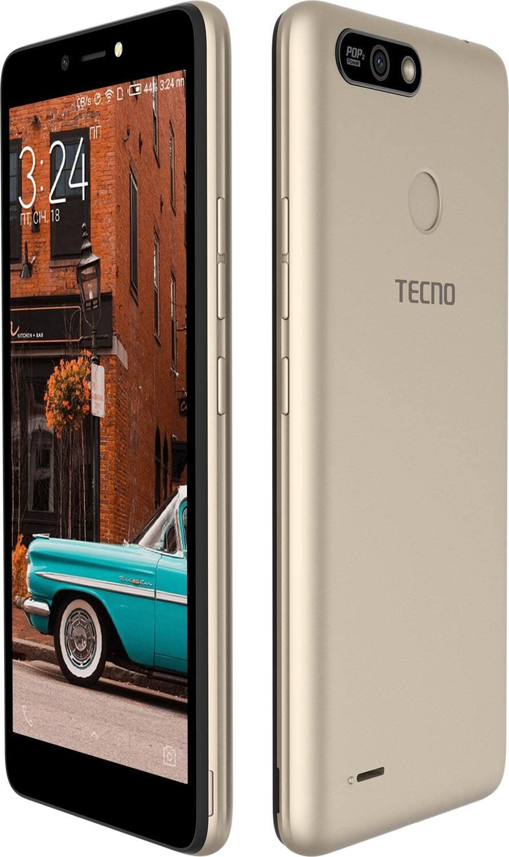 ≡ Смартфон TECNO POP 2 Power (B1P) 1/16GB DS Champagne Gold