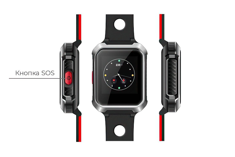 Смарт-часы GOGPS М02 Black фото