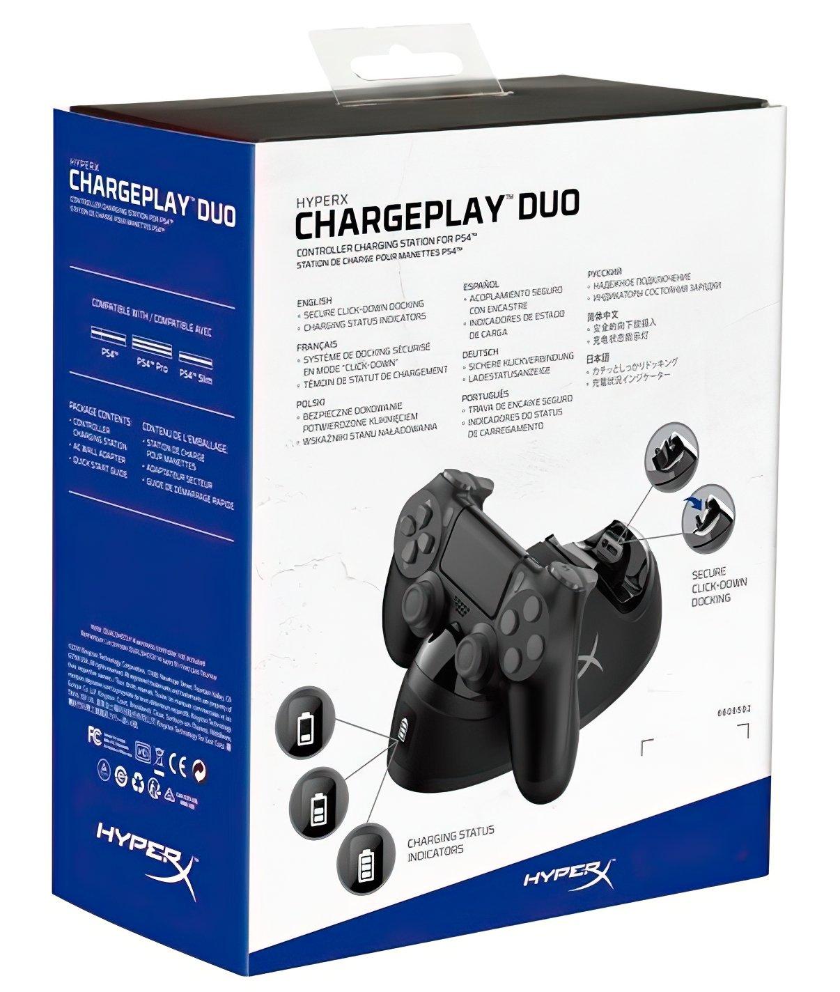 Зарядная станция HyperX ChargePlay Duo (HX-CPDU-C) фото 7