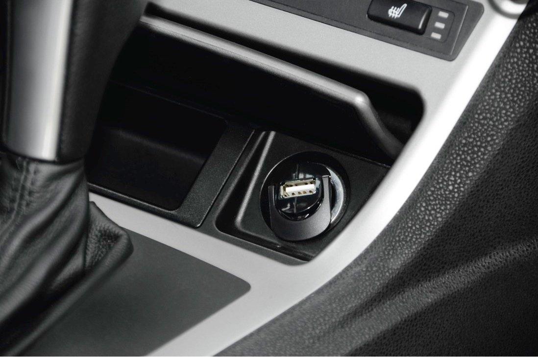Автомобильное зарядное устройство Hama 1A + microUSB Cable Black фото 4