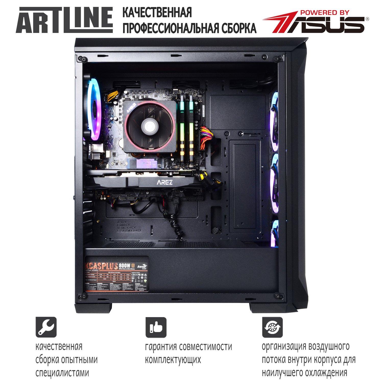 Системний блок ARTLINE Gaming X65 v21 (X65v21) фото5