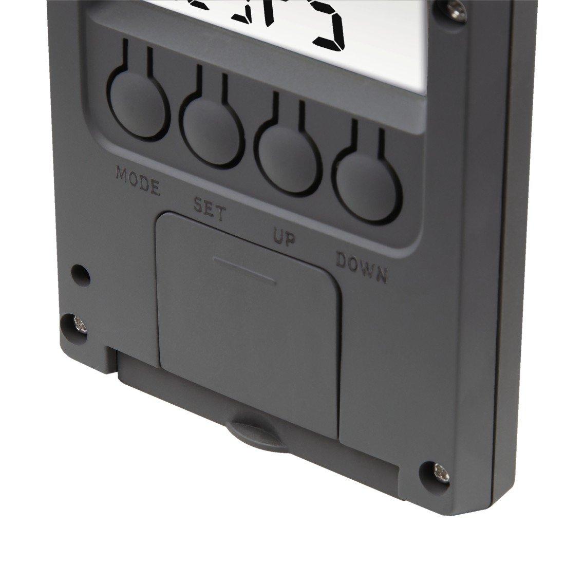 Термометр/гігрометр HAMA TH-140 з індикатором погоди gray фото