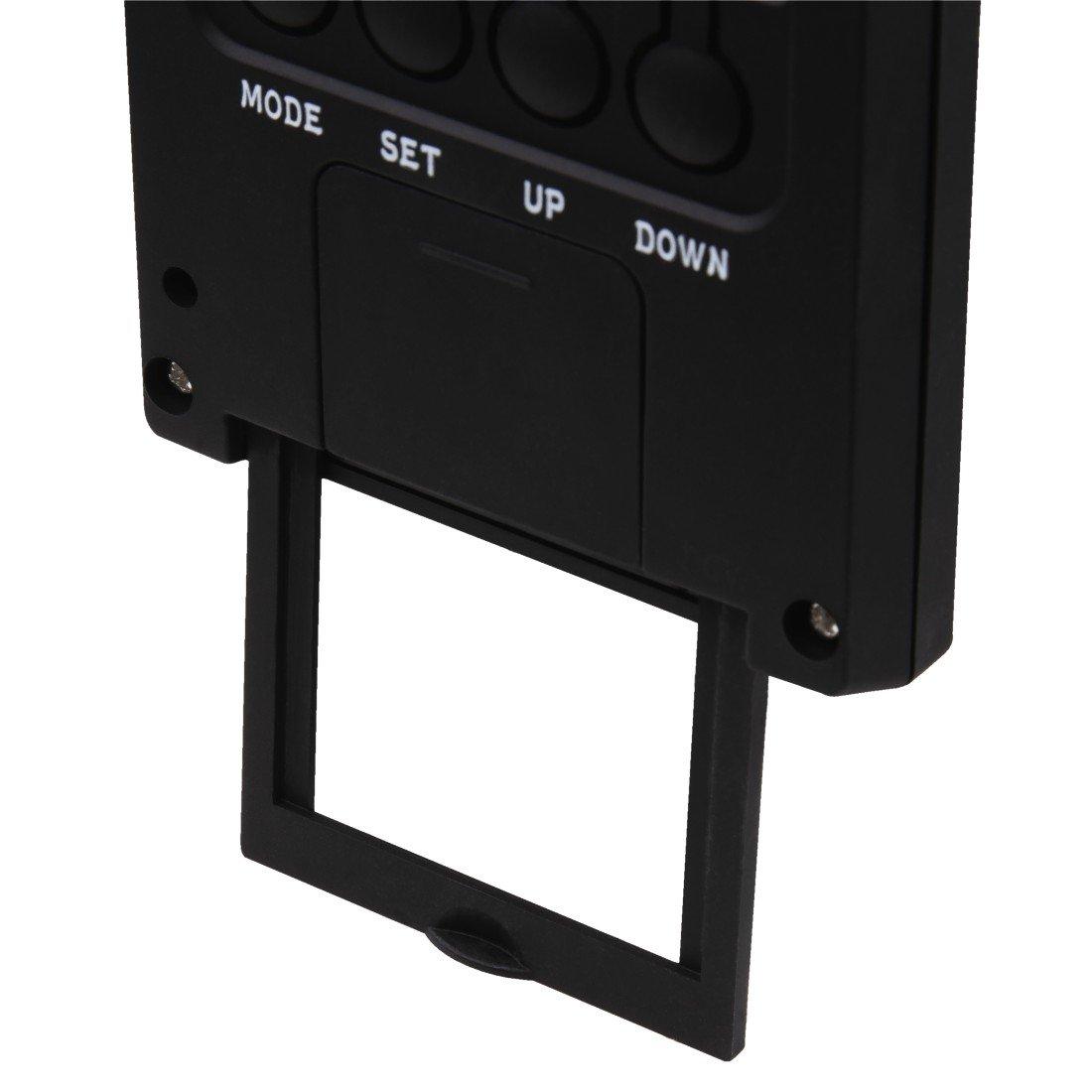 Термометр/гігрометр HAMA TH-140 з індикатором погоди black фото