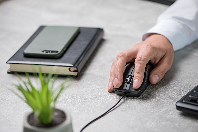 Миша 2Е MF130 USB Black (2E-MF130UB) фото