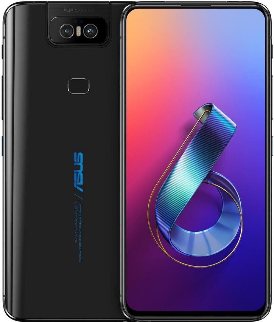 Смартфон Asus ZenFone 6 (ZS630KL-2A002EU) DS Black фото 8