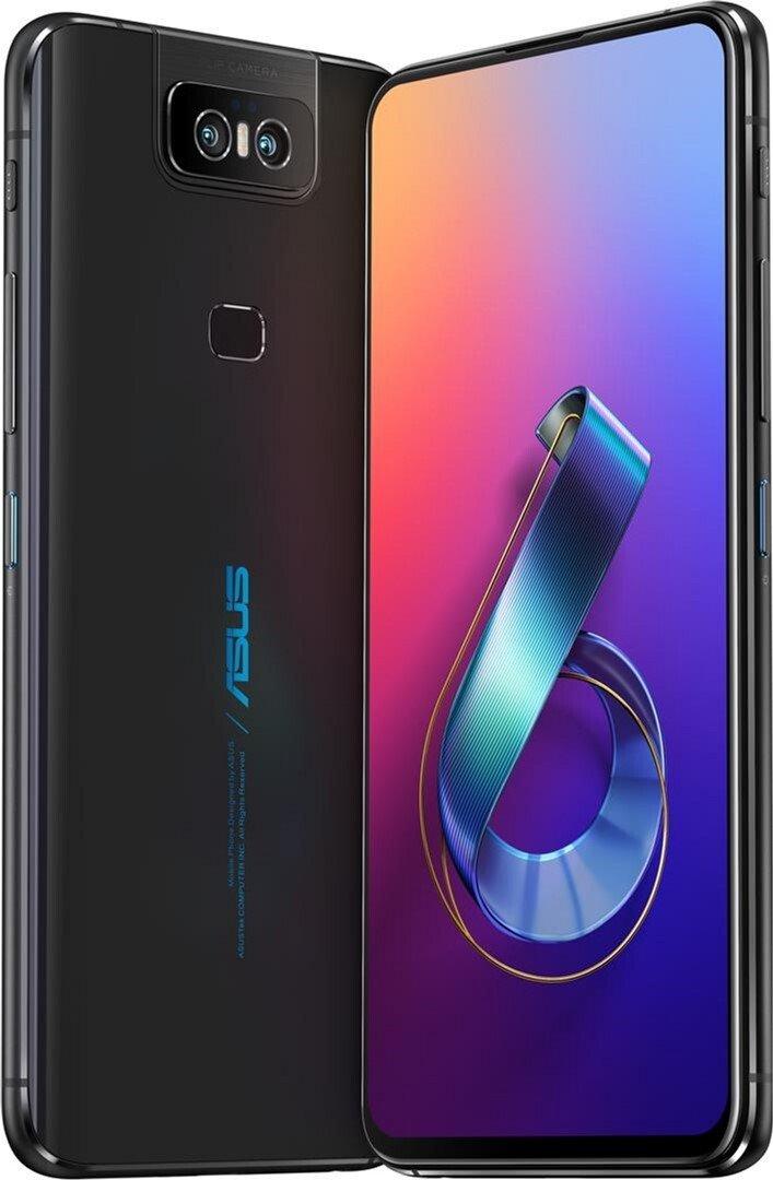 Смартфон Asus ZenFone 6 (ZS630KL-2A002EU) DS Black фото 2