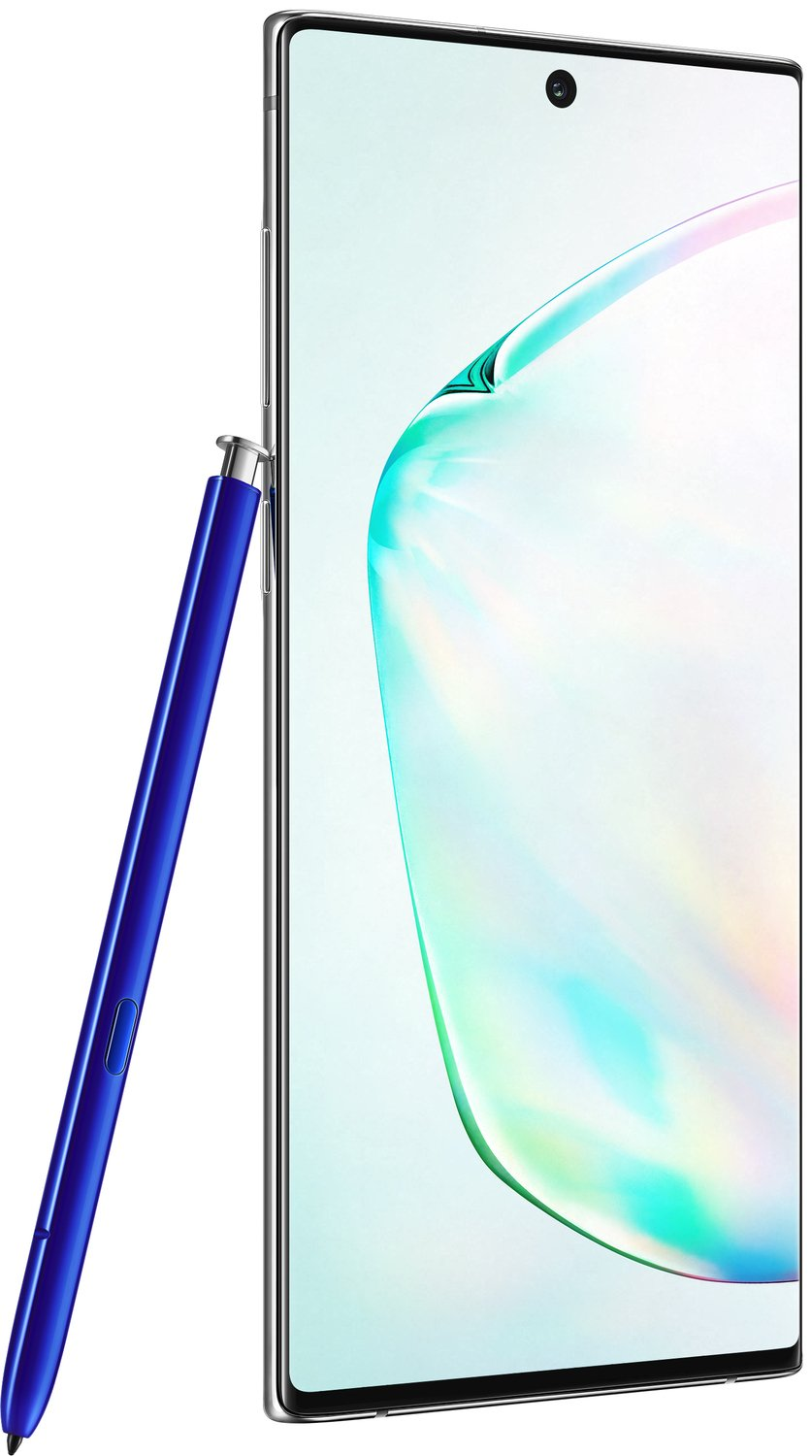 Смартфон Samsung Galaxy Note 10 Silver фото 9