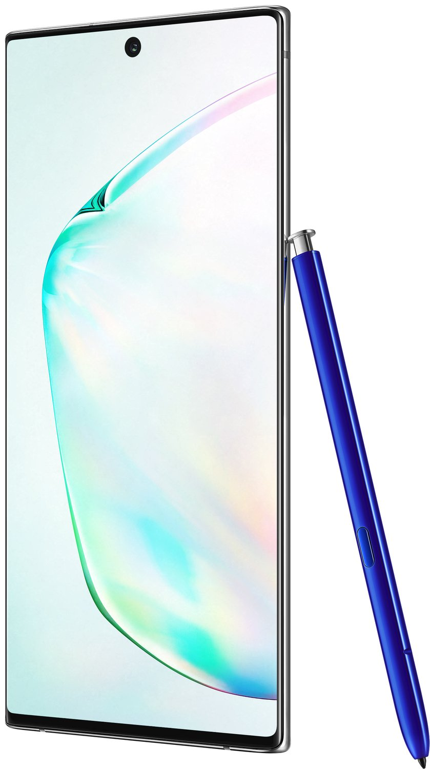 Смартфон Samsung Galaxy Note 10 Silver фото 8