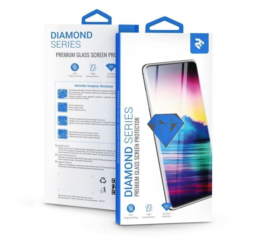 Комплект защитных стёкол 2E для Galaxy A30 (A305)/A50 (A505) 2.5D Black Border фото 5