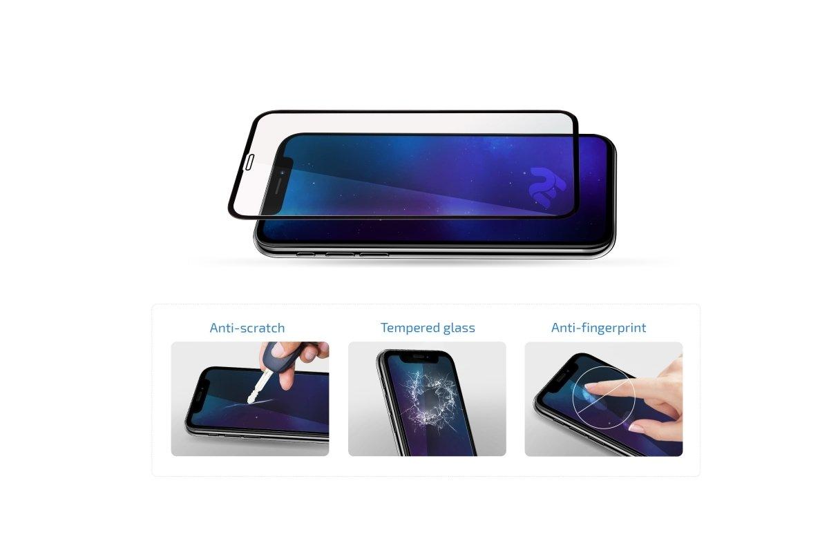 Комплект защитных стёкол 2E для Galaxy A30 (A305)/A50 (A505) 2.5D Black Border фото 4