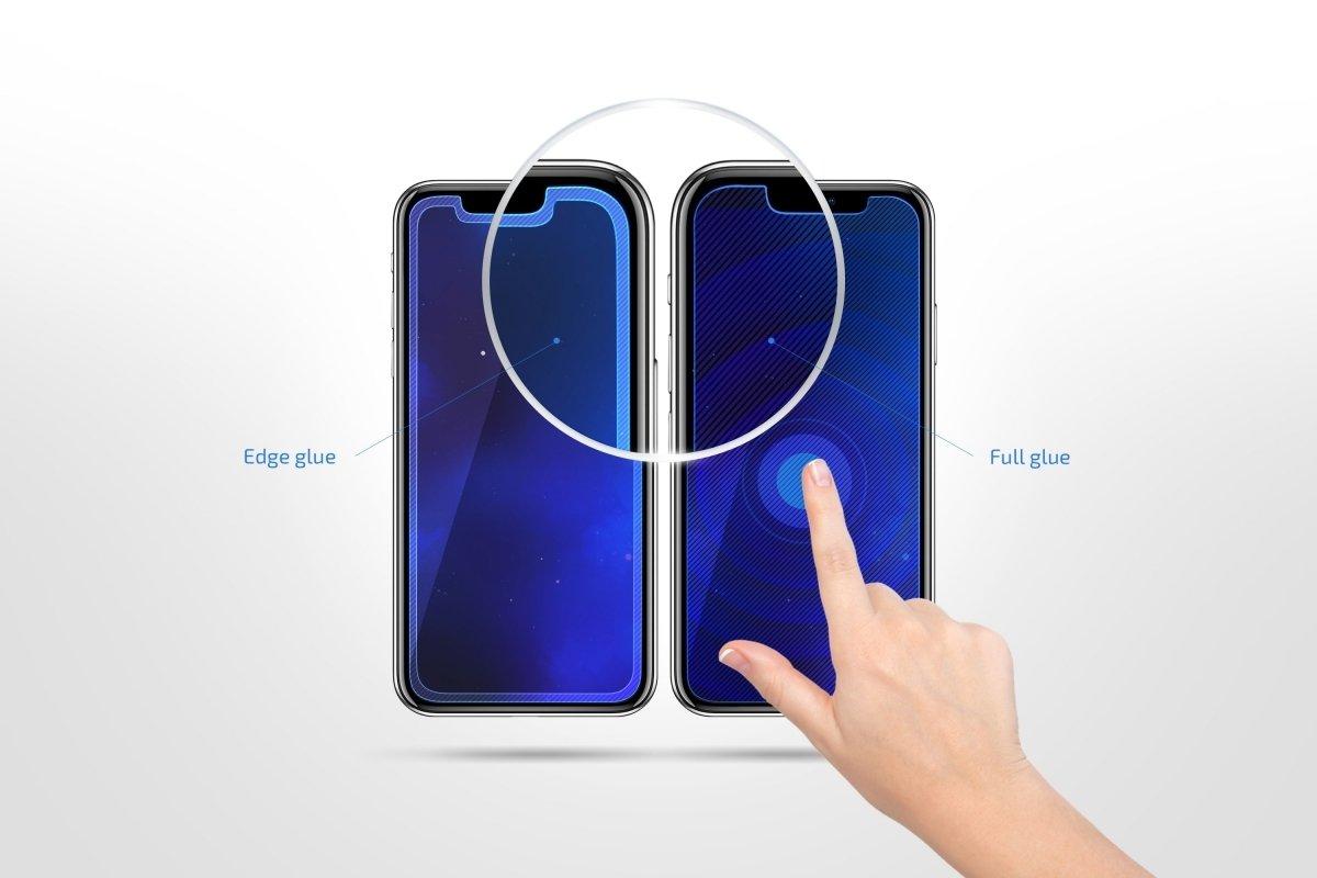 Комплект защитных стёкол 2E для Galaxy A30 (A305)/A50 (A505) 2.5D Black Border фото 2