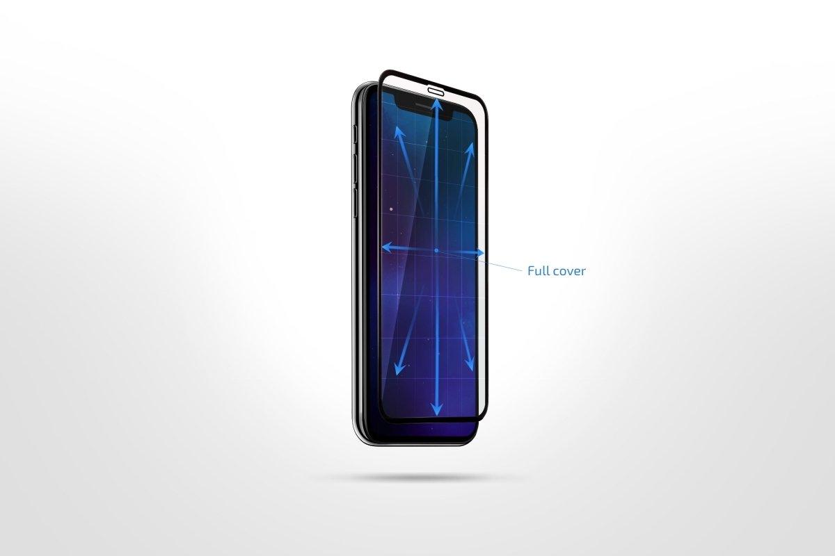 Комплект защитных стёкол 2E для Galaxy A30 (A305)/A50 (A505) 2.5D Black Border фото 3