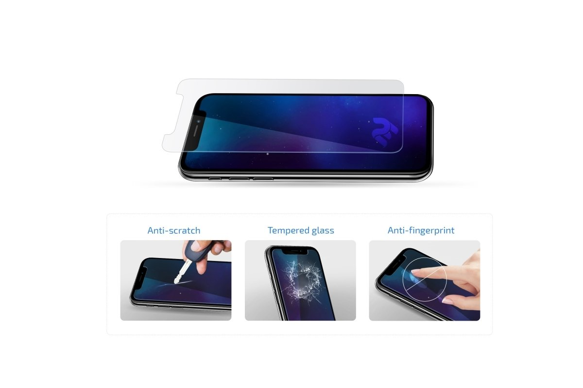 Комплект защитных стёкол 2E для Galaxy A30 (A305)/A50 (A505) 2.5D Clear фото 3