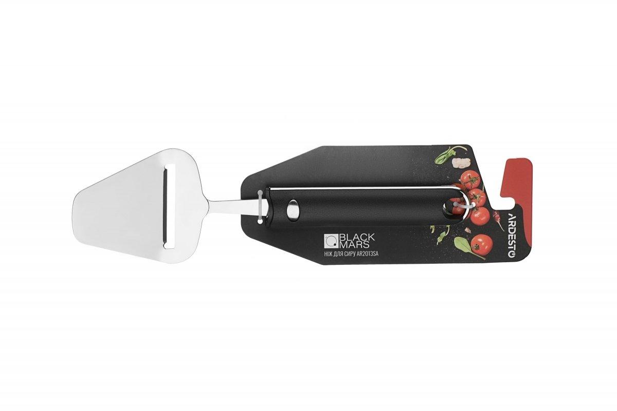 Нож для сыра Ardesto Black Mars пластик, нержавеющая сталь (AR2013SA) фото 2