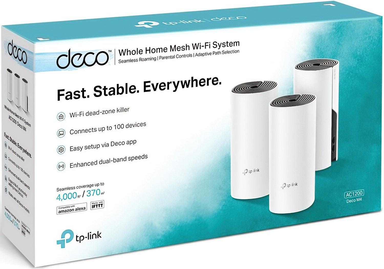Бездротова система Wi-Fi TP-LINK DECO-E4-3-PACK фото3