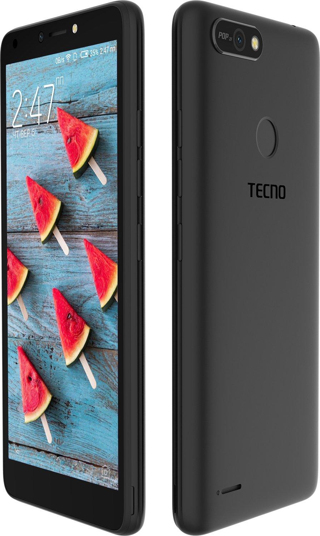 Смартфон TECNO POP 2F (B1F) 1/16GB DS Midnight Black фото 3