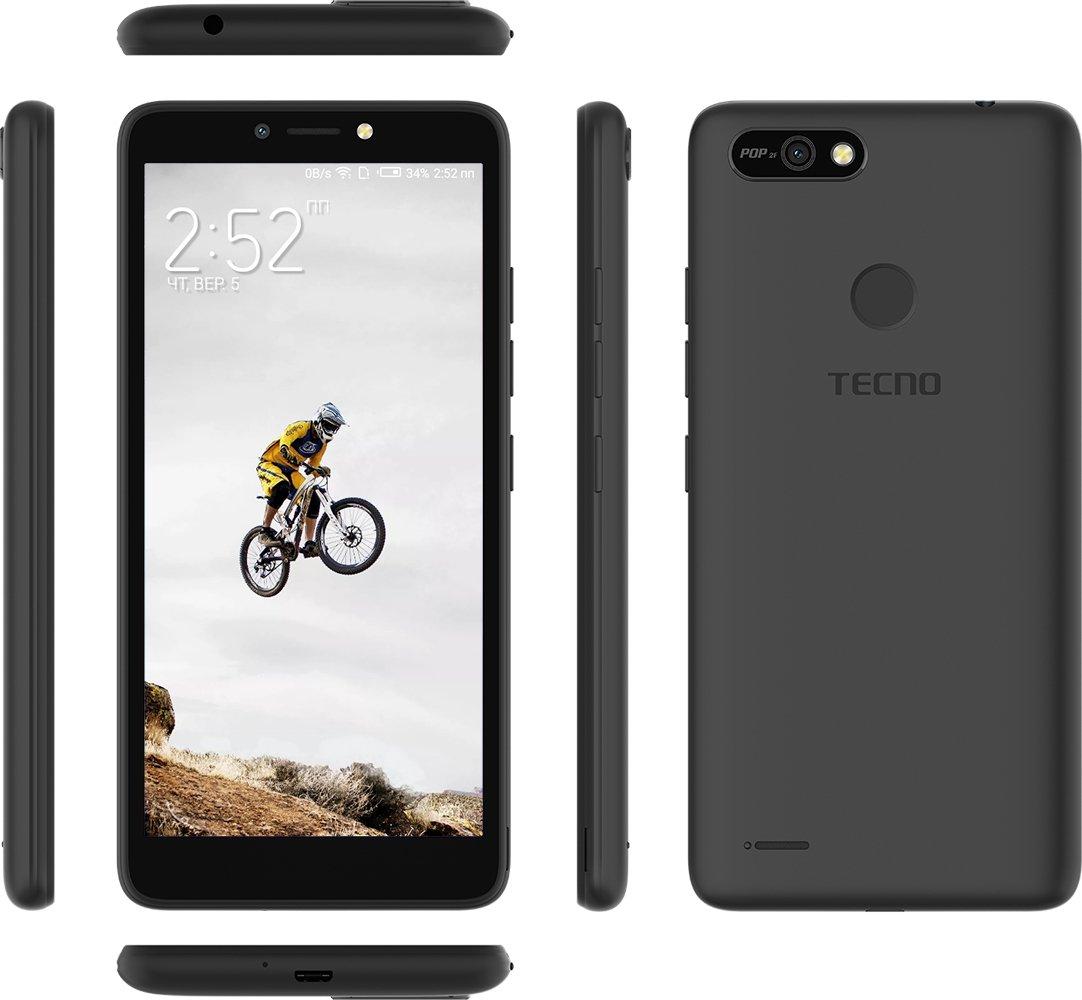 Смартфон TECNO POP 2F (B1F) 1/16GB DS Midnight Black фото 4