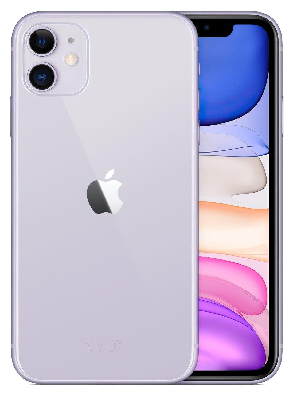 Смартфон Apple iPhone 11 128GB Purple (slim box) (MHDM3) фото 2