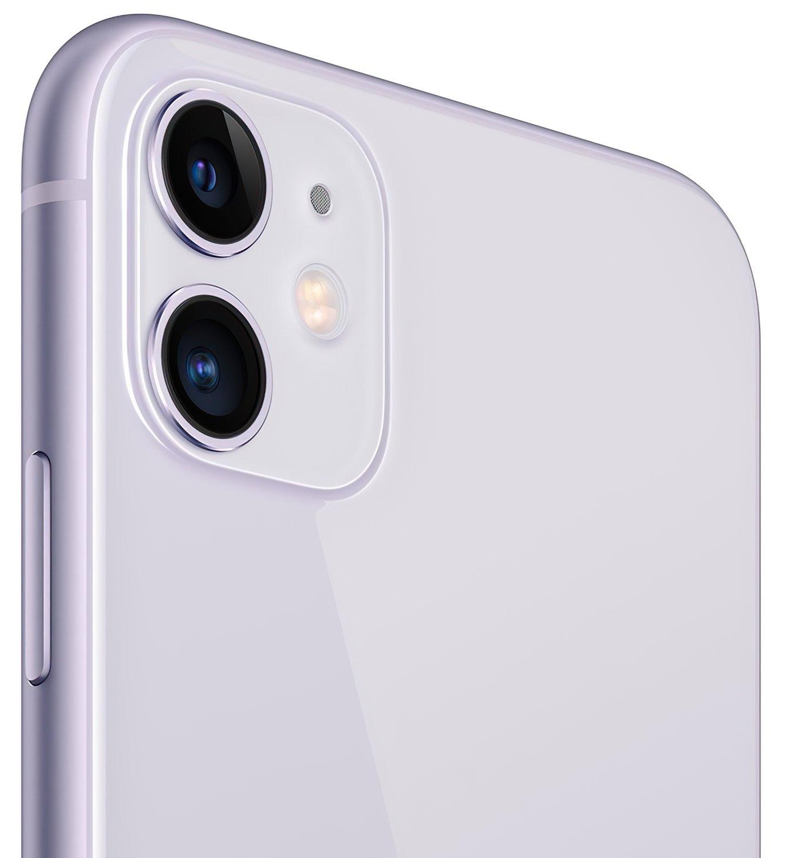 Смартфон Apple iPhone 11 128GB Purple (slim box) (MHDM3) фото 4