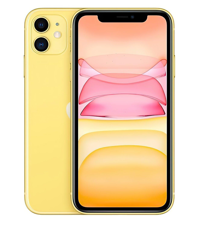 Смартфон Apple iPhone 11 128GB Yellow (slim box) (MHDL3) фото