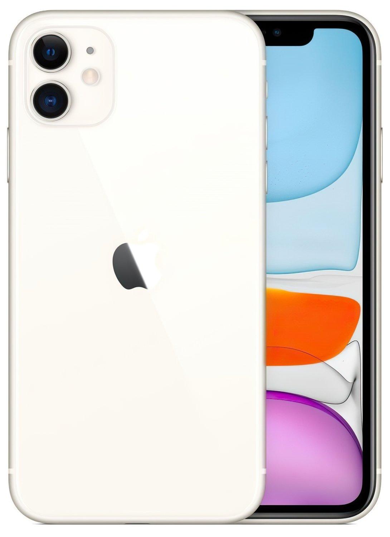 Смартфон Apple iPhone 11 256GB White (slim box) (MHDQ3) фото
