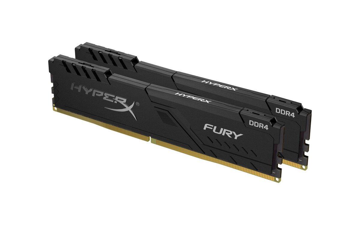 Пам'ять для ПК HyperX DDR4 2400 16GB Fury Black (HX424C15FB3K2/16) фото2
