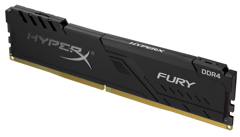 Память для ПК HyperX DDR4 2400 16GB Fury Black (HX424C15FB3/16) фото 2